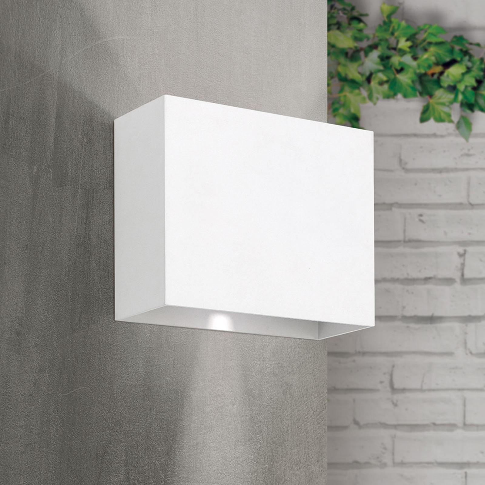 Akzent utendørs LED-vegglampe, hvit