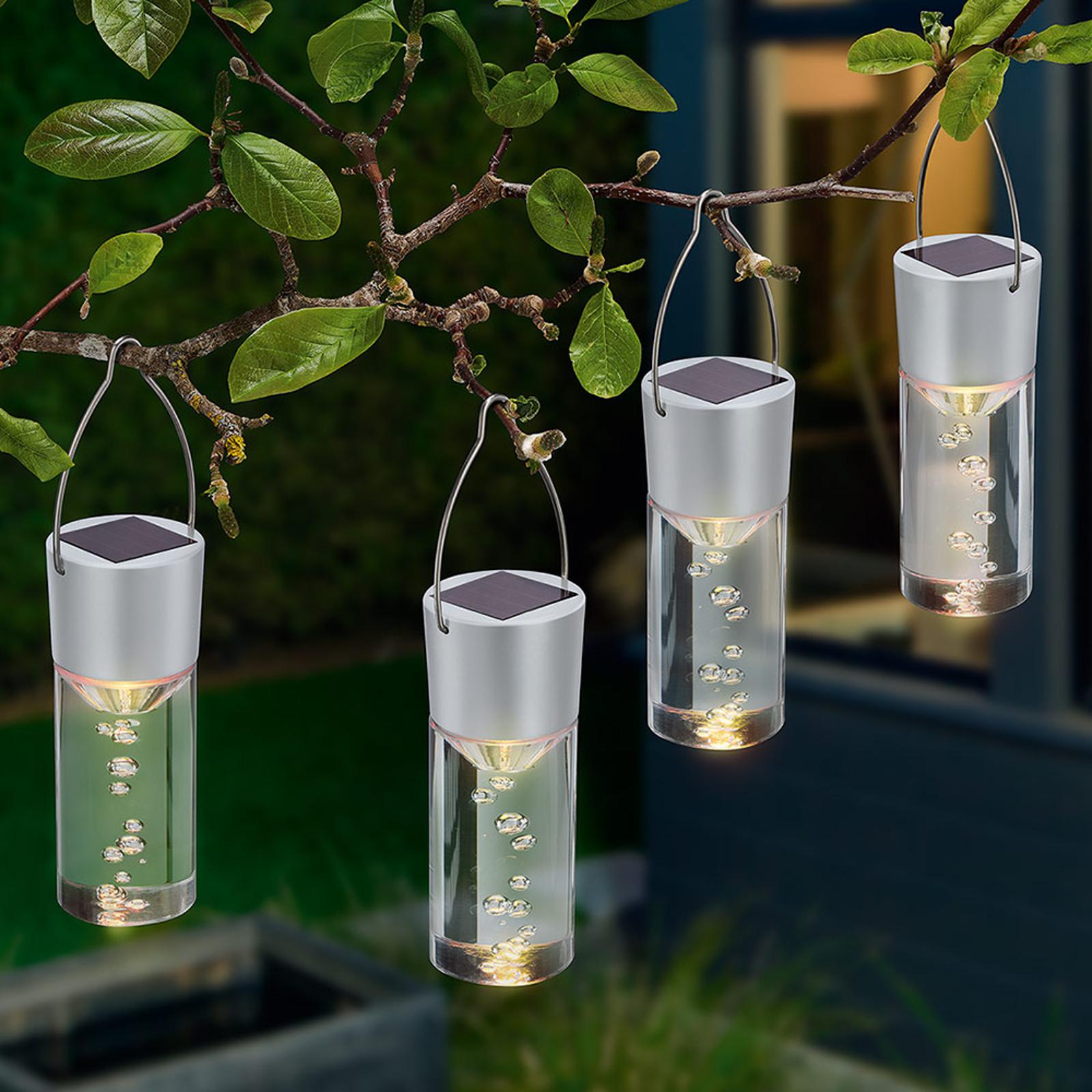 Set sfeerlampen op zonne-energie Smart Sticks