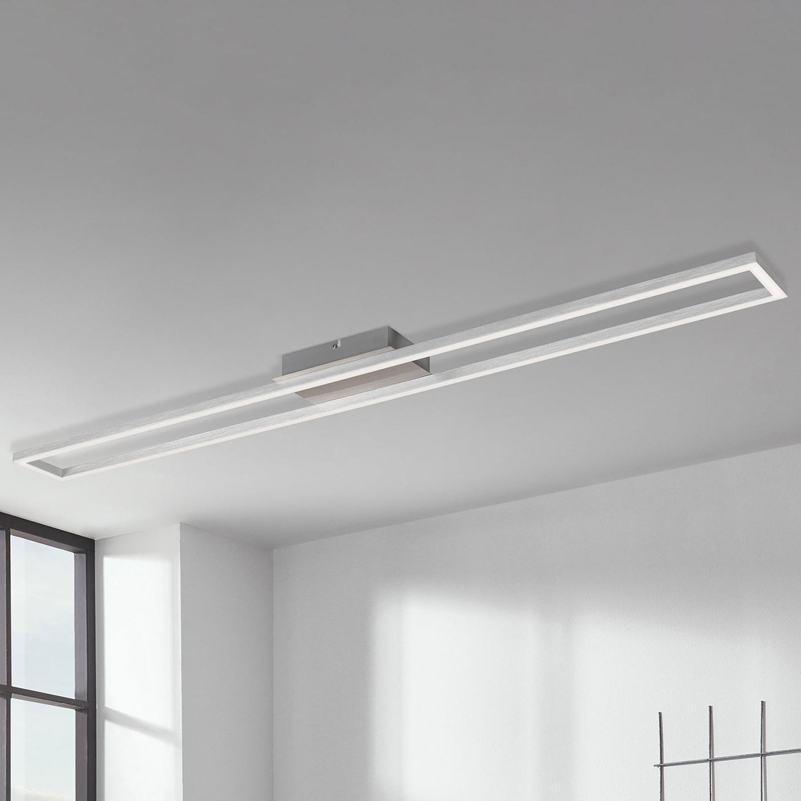 Lampa sufitowa Frame 3-stopnie, aluminium 110x12cm