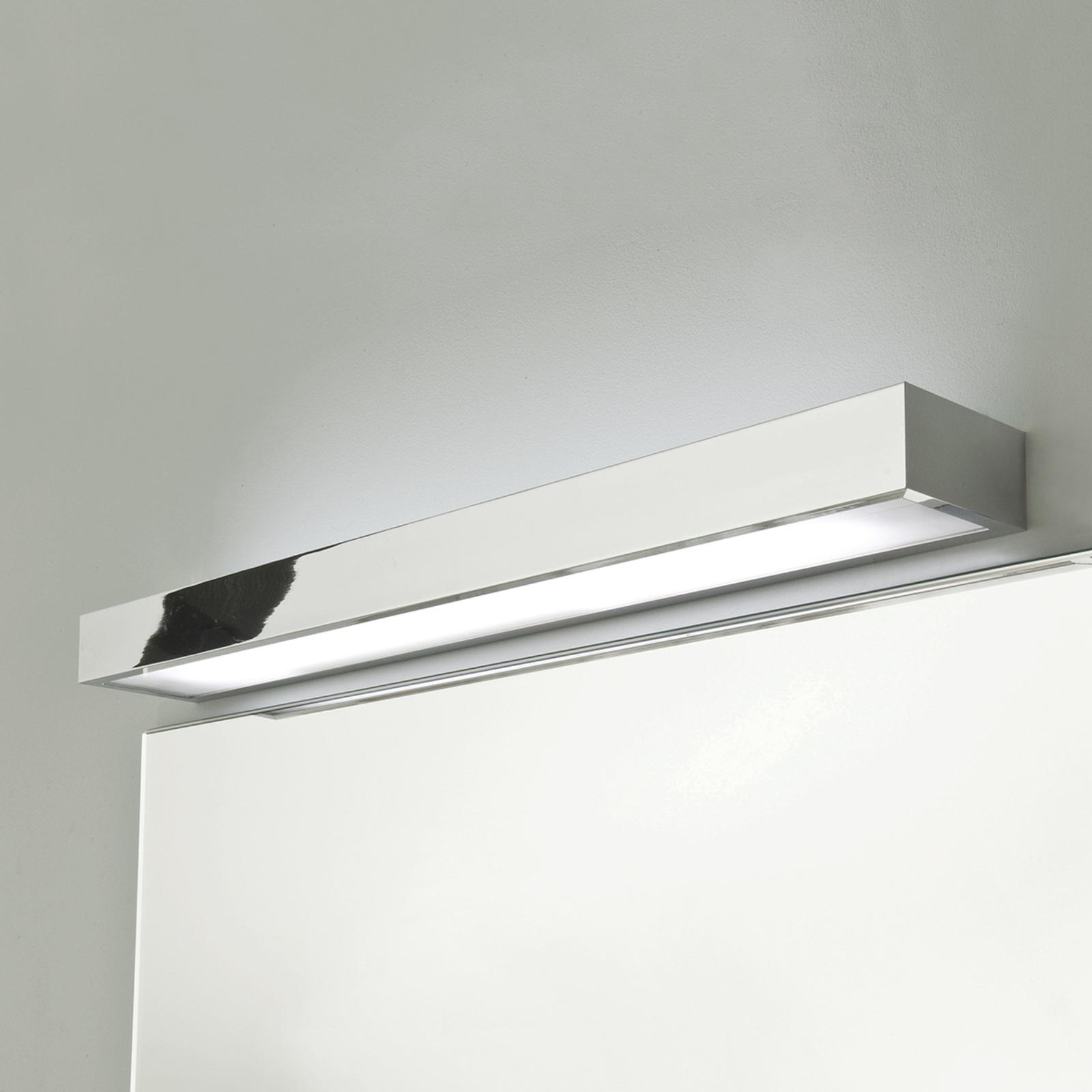 Chroom-glanzende wandlamp TALLIN, lengte 60 cm