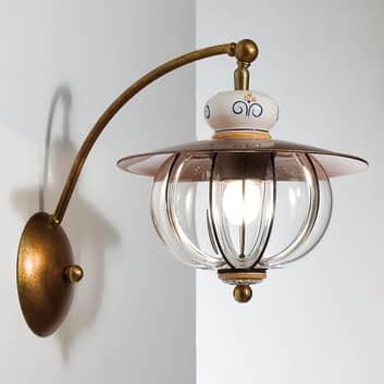 Wystająca lampa ścienna Lampara - ręcznie wykonana