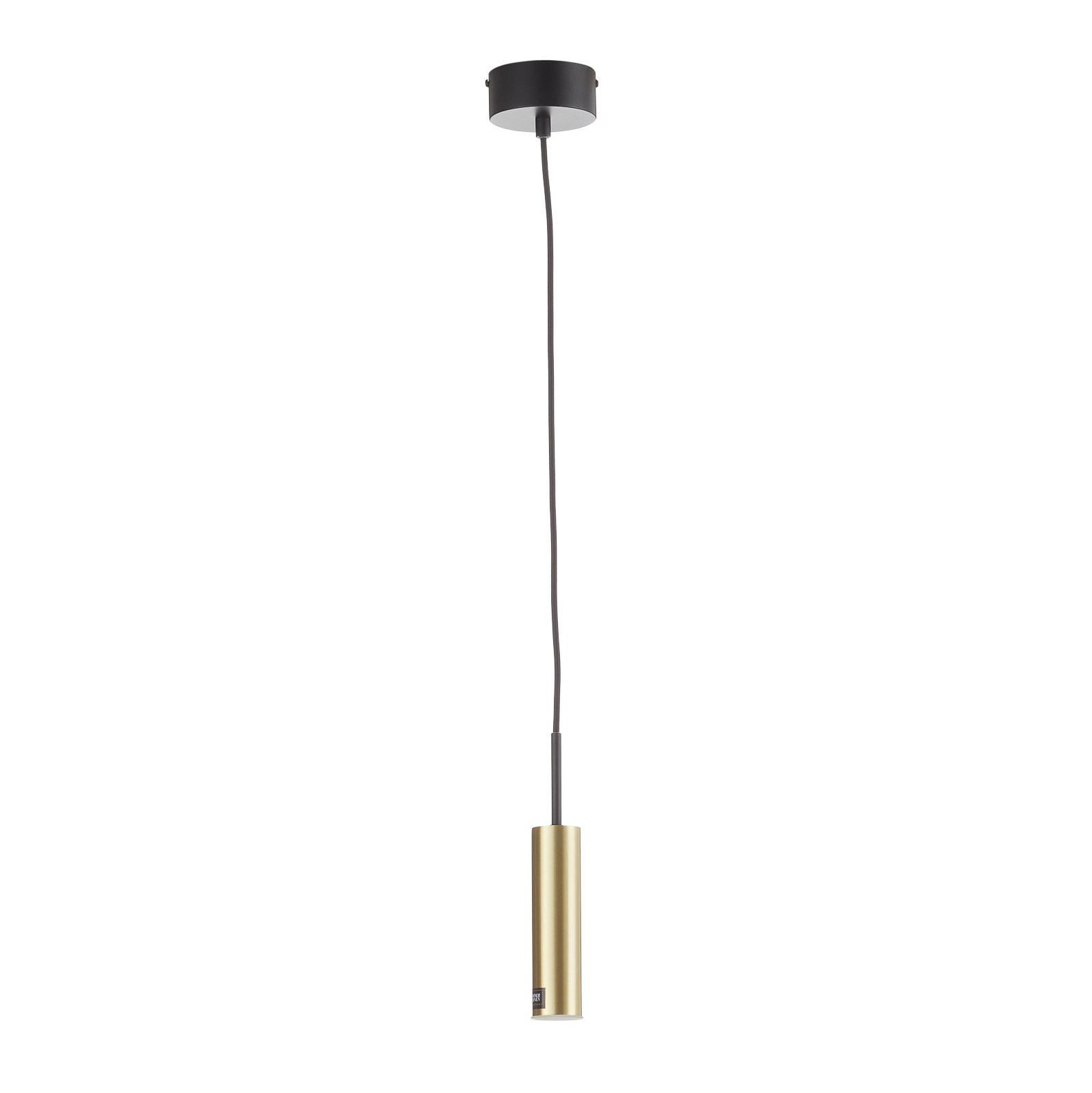 Schöner Wohnen Stina LED-Pendelleuchte, 1-fl. gold