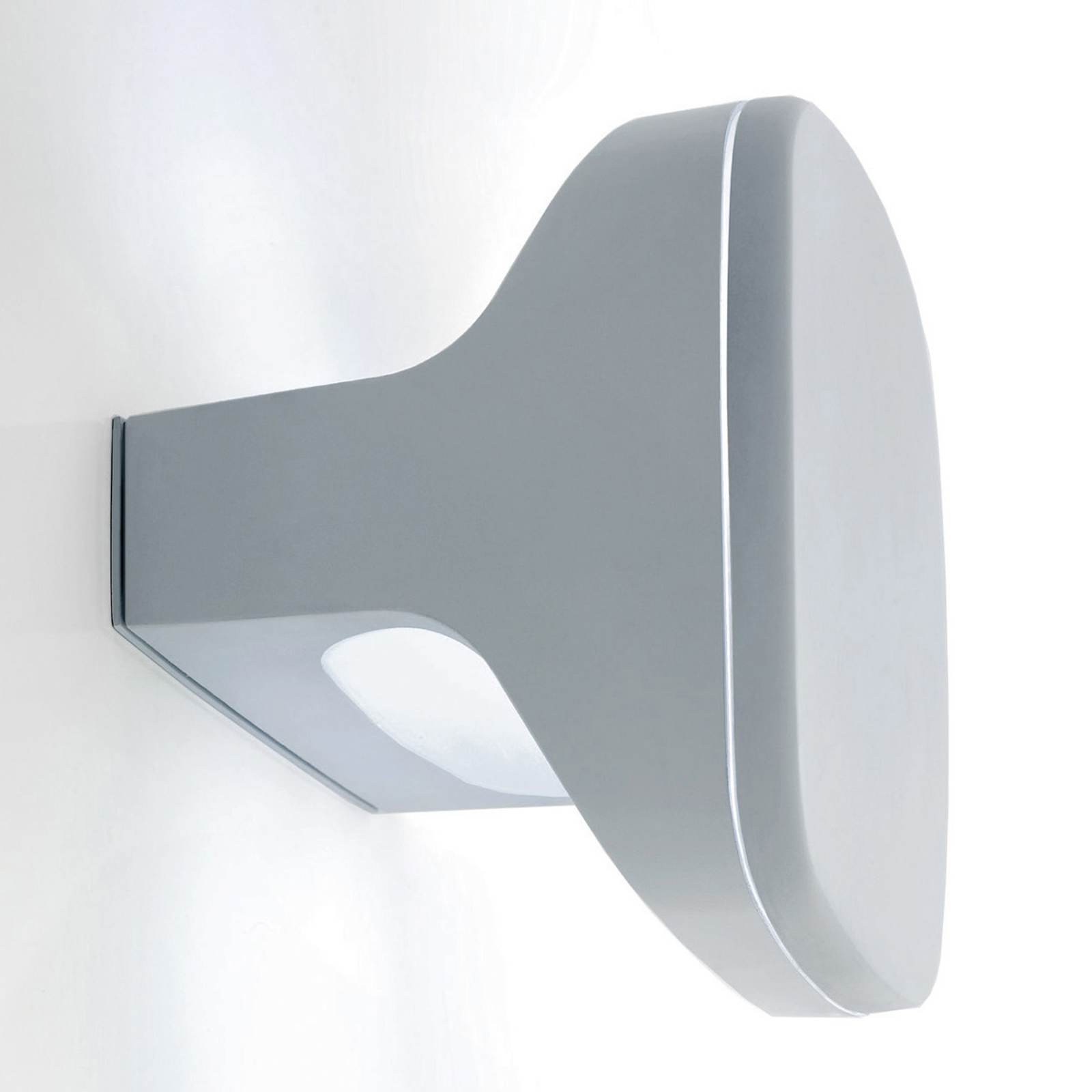 Ultramoderne LED-utevegglampe Sky, aluminium