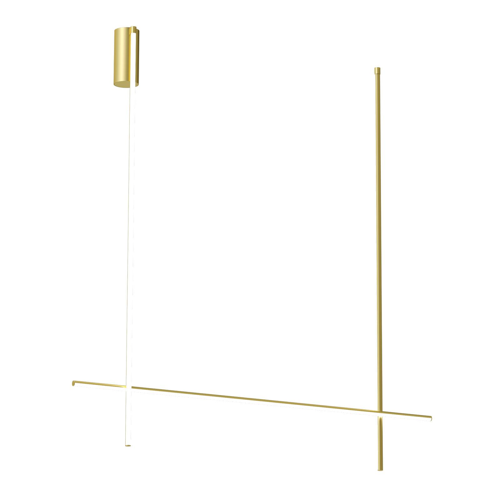 FLOS Coordinates C2 Long LED-taklampe, 186 cm