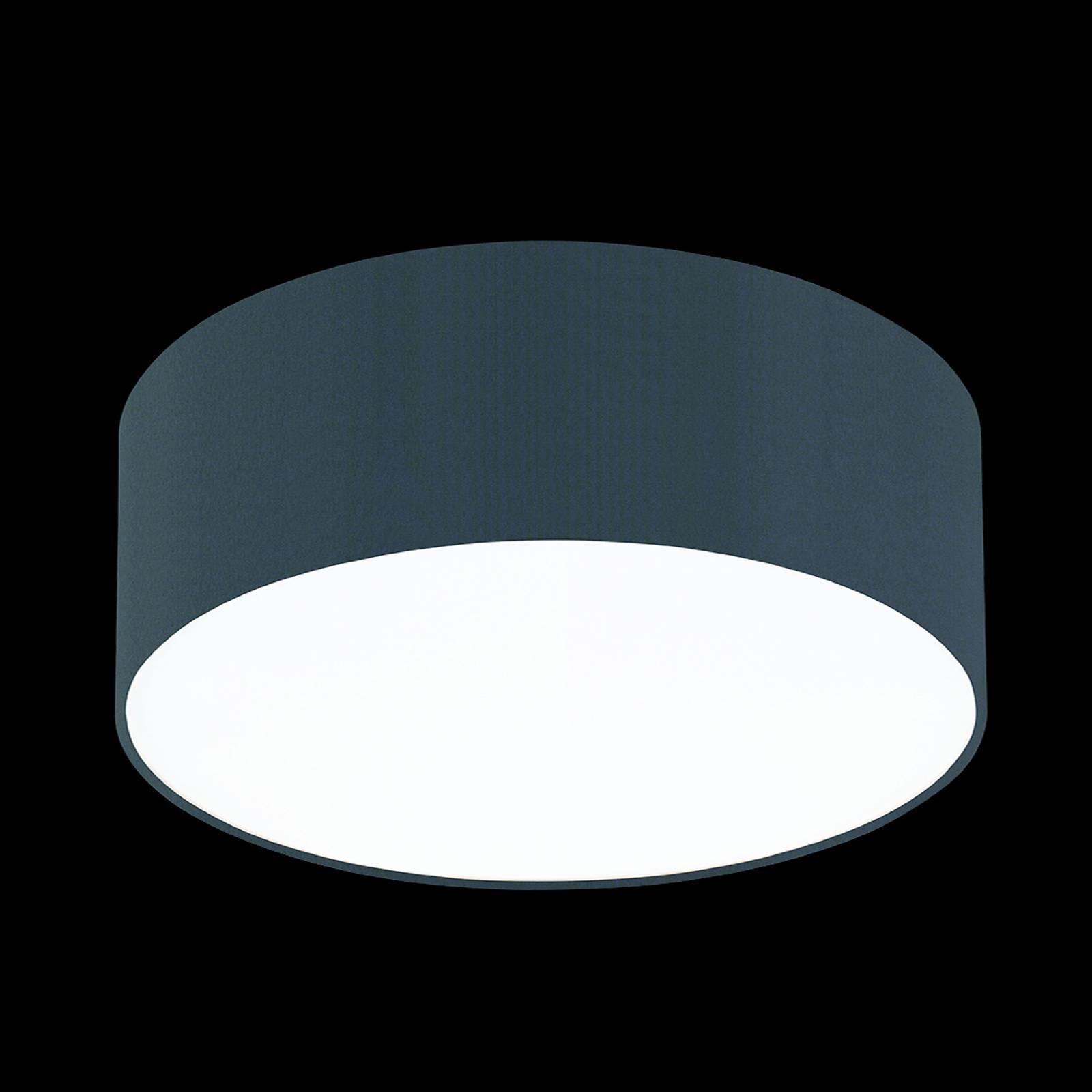 Leisteengrijze plafondlamp Mara, 50 cm