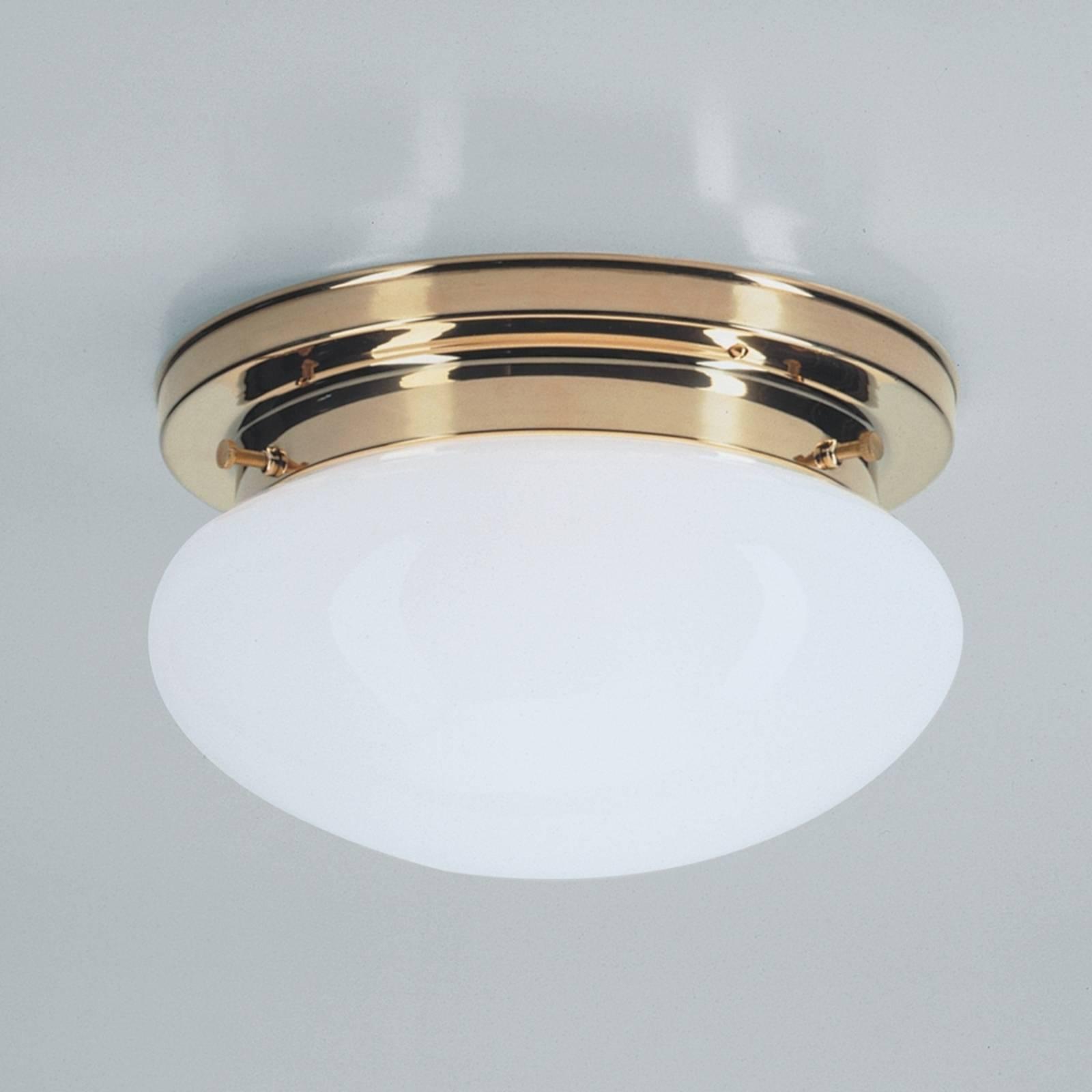 Lampa sufitowa HARRY z polerowanym mosiądzem