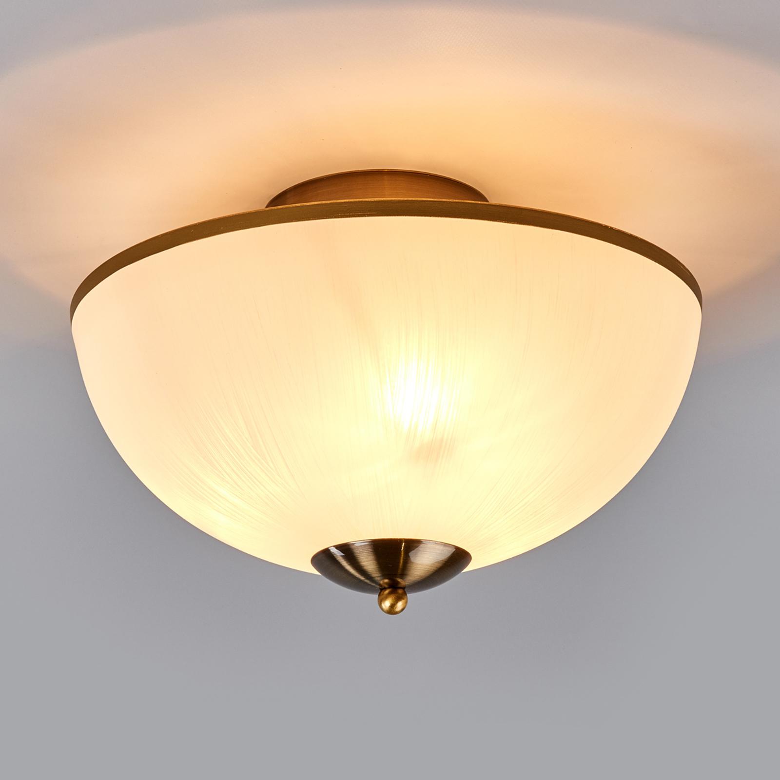 Subtelna lampa sufitowa BRAHAMA