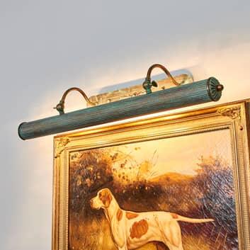 Billedlampe Beno i spanskgrønt optik, 72 cm
