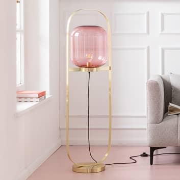 KARE Jupiter lampadaire, rose-laiton