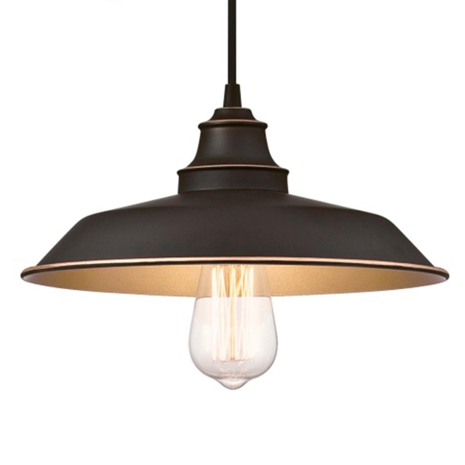 Westinghouse lampa wisząca Iron Hill, regulowana