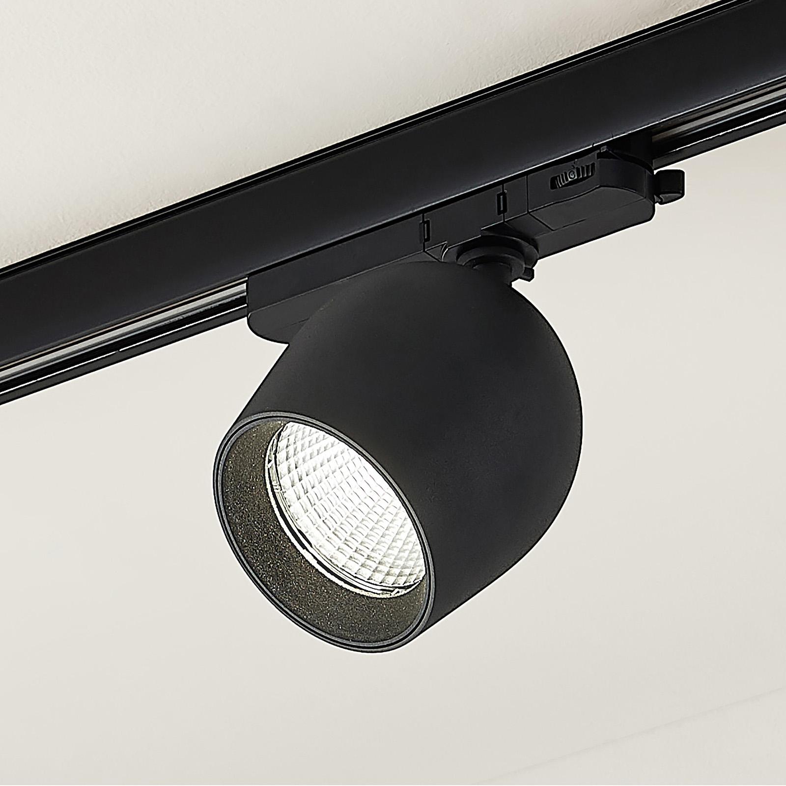Arcchio Bauke LED-Schienenspot schwarz 24W 4.000K