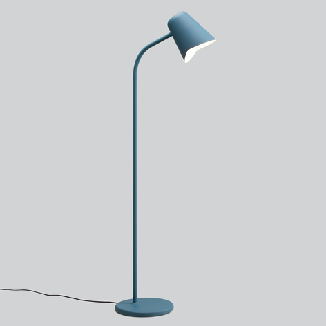 Northern Me - petrolblaue Design-Stehlampe
