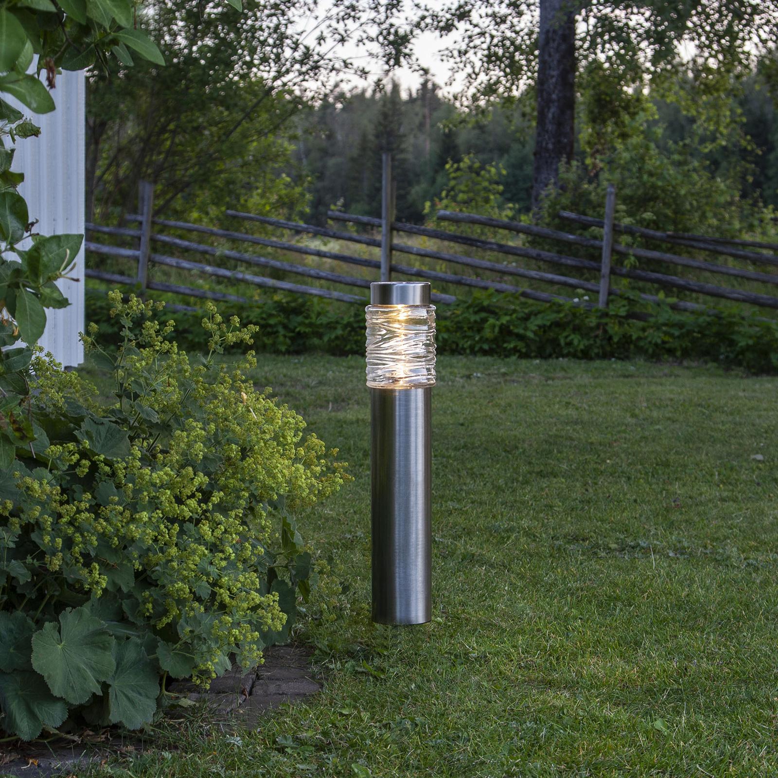 Lampa solarna Capri - autarkiczna lampa cokołowa