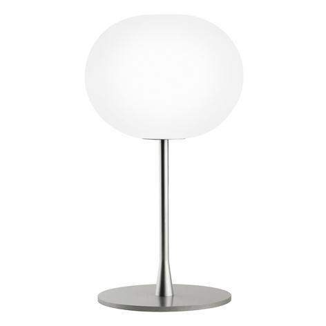 GLO-BALL T1 - elegante lámpara de mesa, plata mate