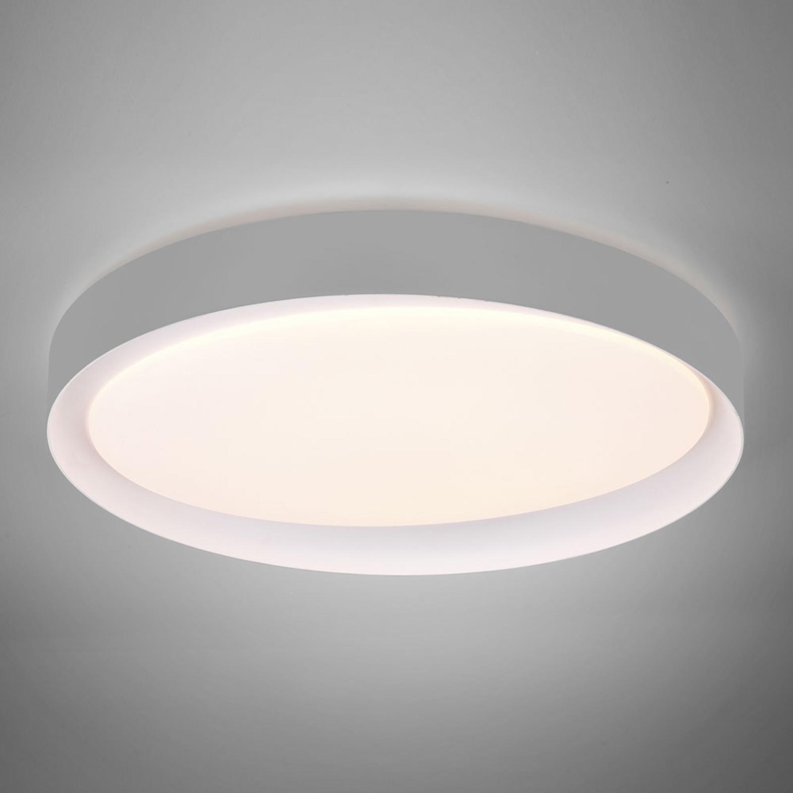 LED-Deckenleuchte Zeta tunable white, grau/weiß