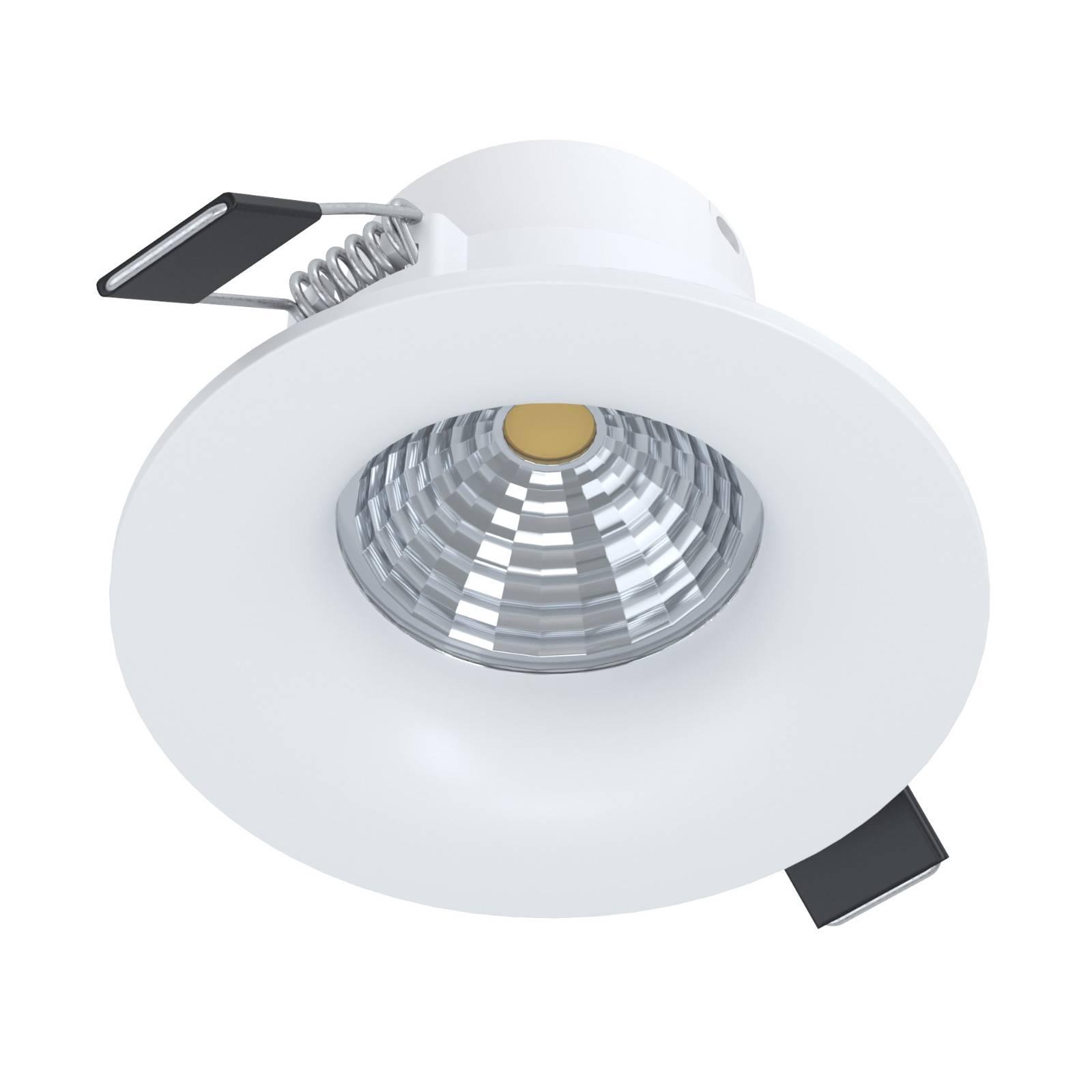 LED inbouwspot Saliceto rond stijf 2.700K wit