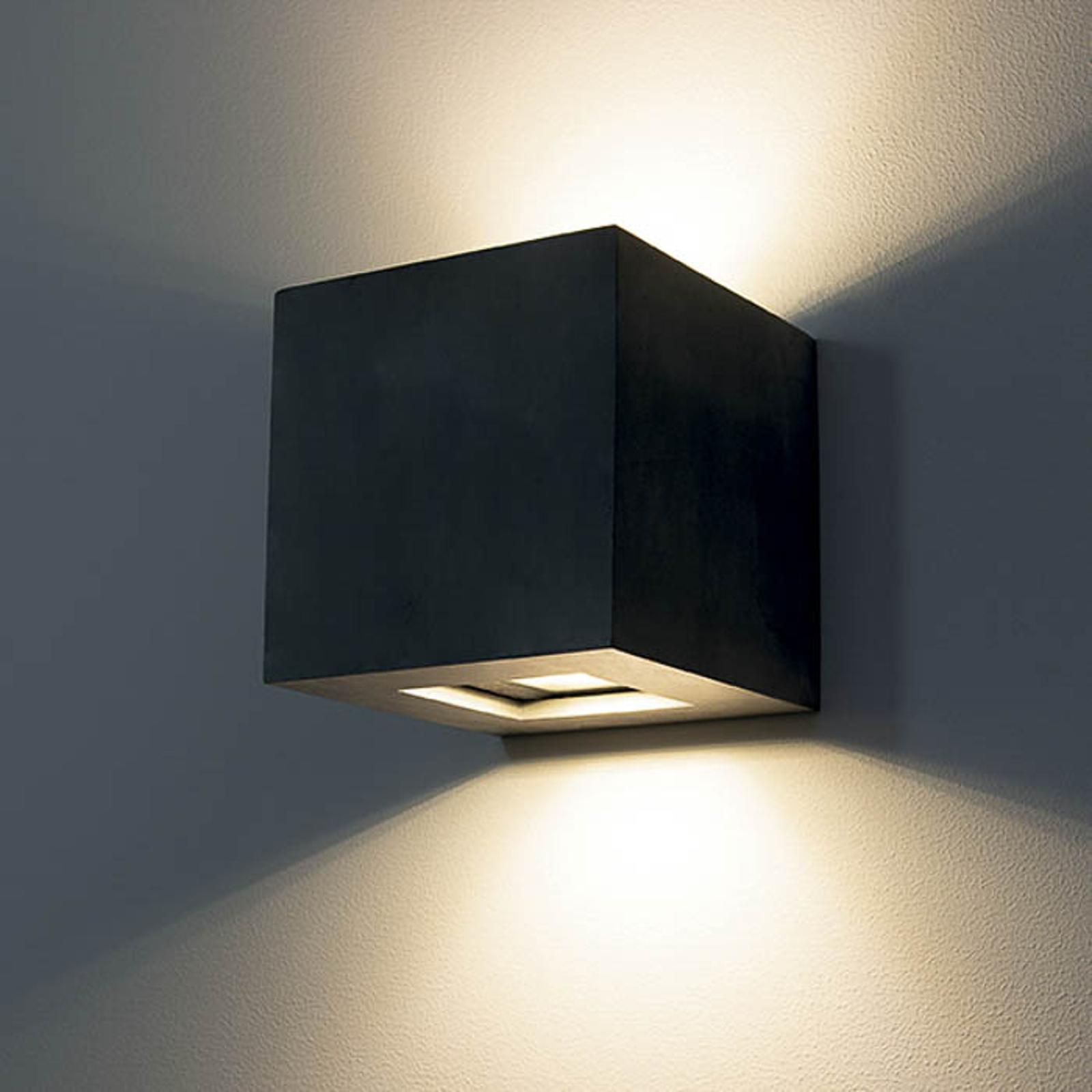 LED-Außenwandleuchte 1092 up & down, schwarz