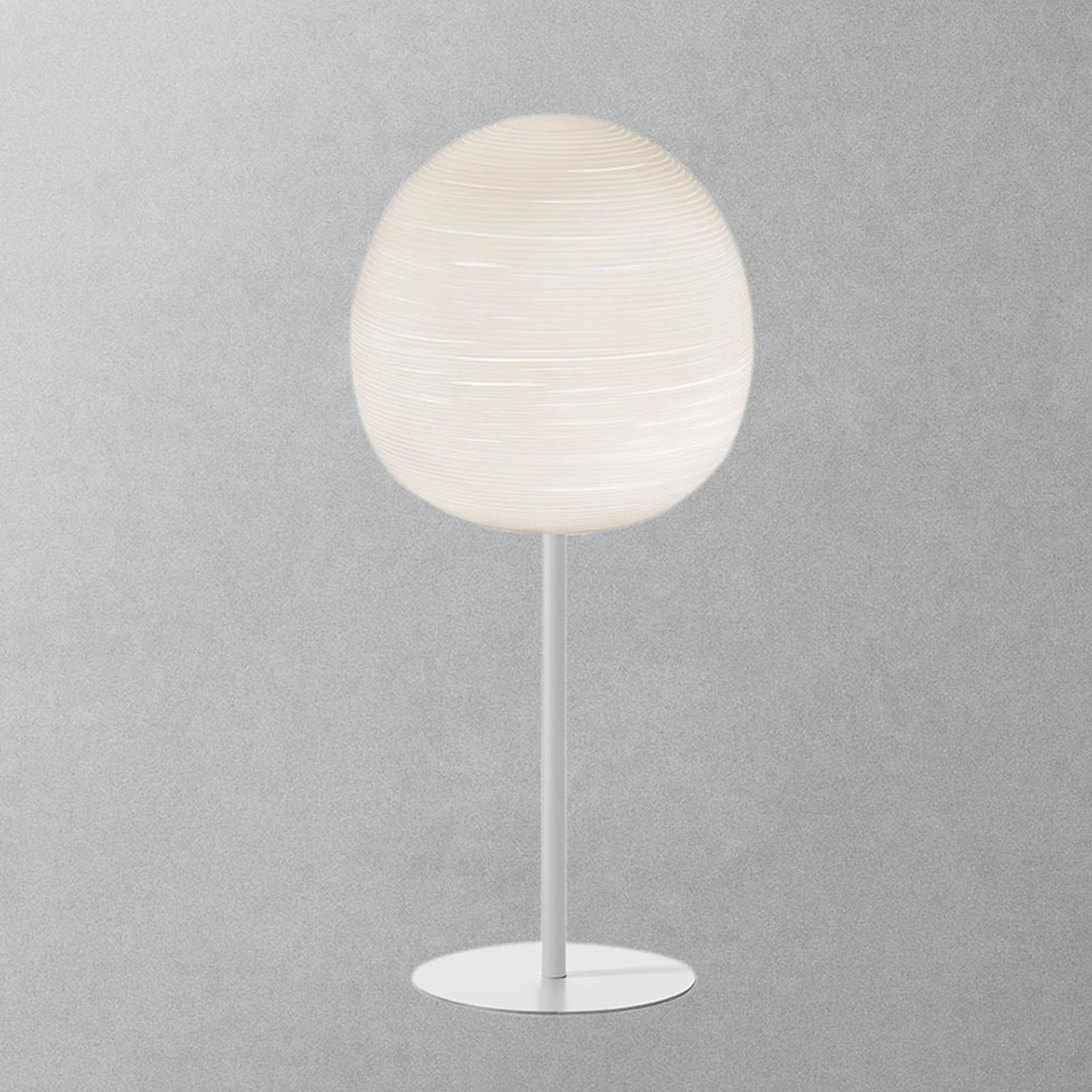 Foscarini Rituals XL alta bordlampe, hvid