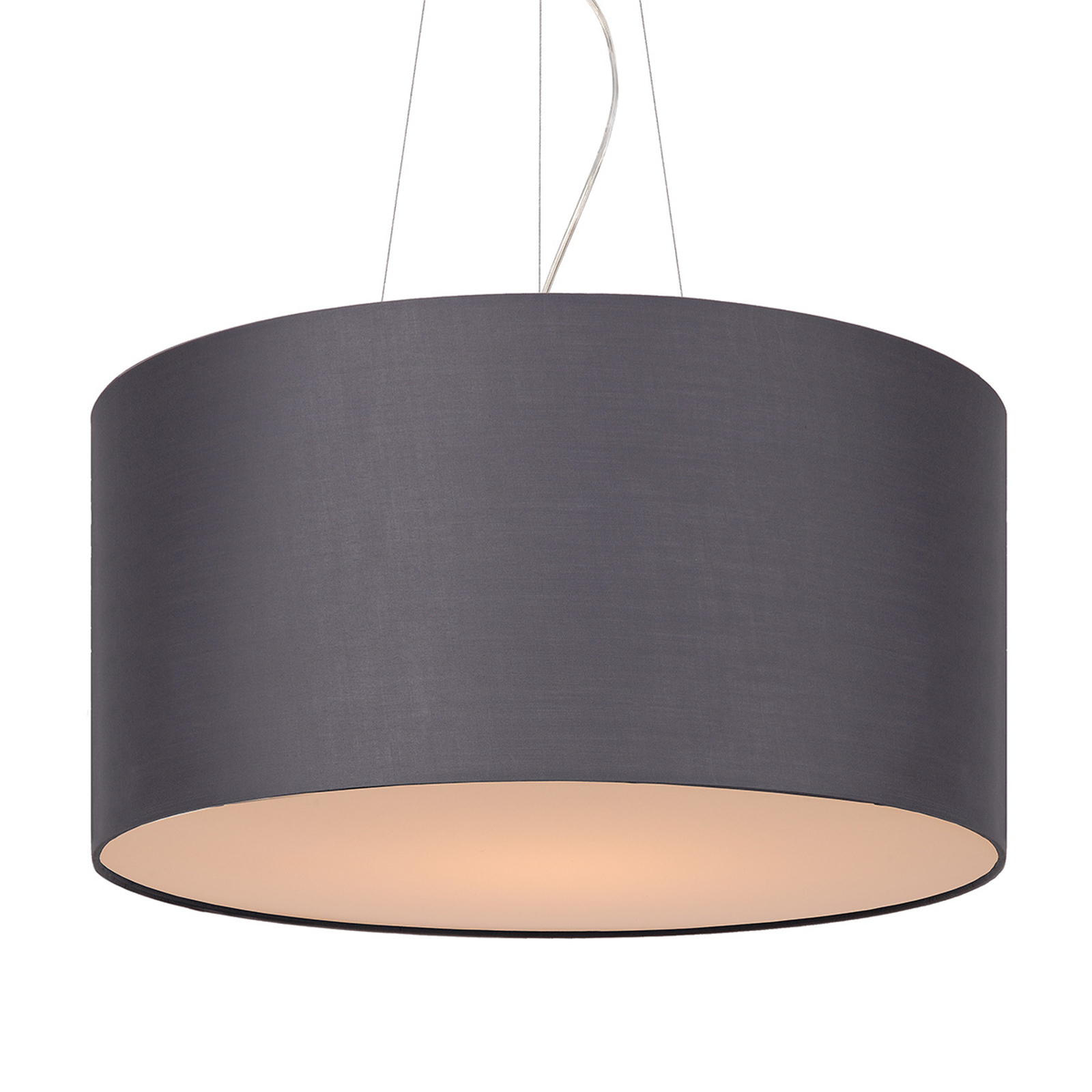 Uniwersalna lampa wisząca Coral szara 60 cm