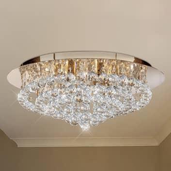 Lámpara de techo Hanna, 55 cm, transparente