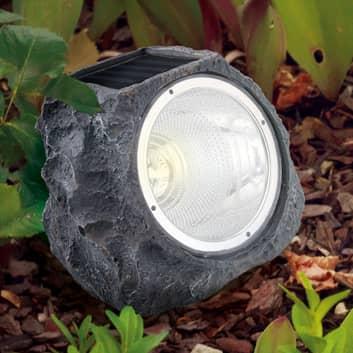 Lámpara solar LED 90494 disfrazada de piedra