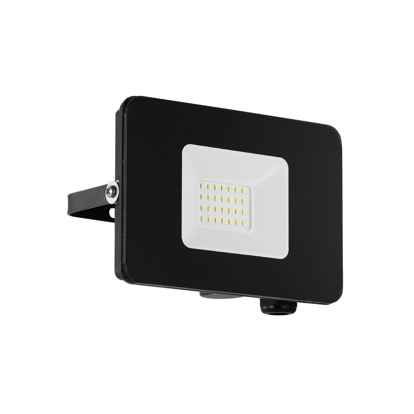 LED buitenspot Faedo 3 in zwart, 20W