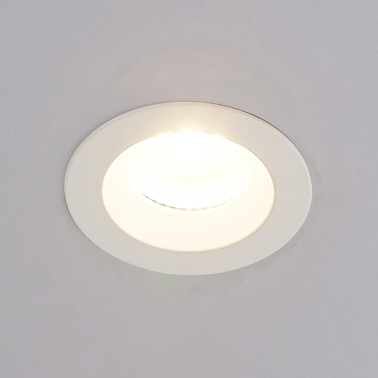 Arcchio Unai LED-Einbaustrahler 2.700K IP65, 8,6W