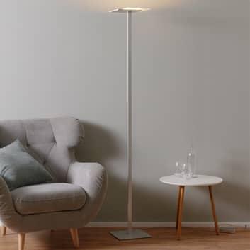 Flat LED-gulvlampe med tastedimmer