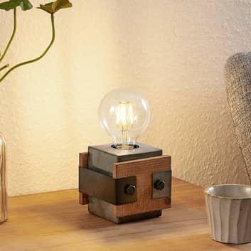 Lindby Nilaska bordlampe, 1 lyskilde, 10 cm