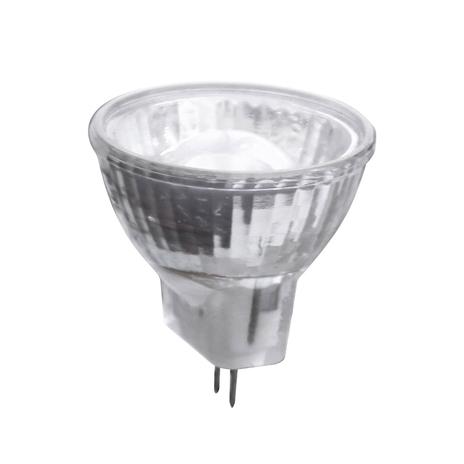 GU4 MR11 2W żarówka reflektorowa LED z soczewką