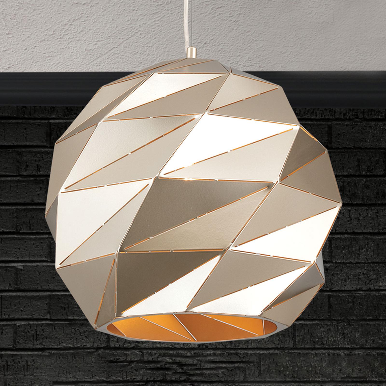 Hängeleuchte Origami Ø 42 cm gold