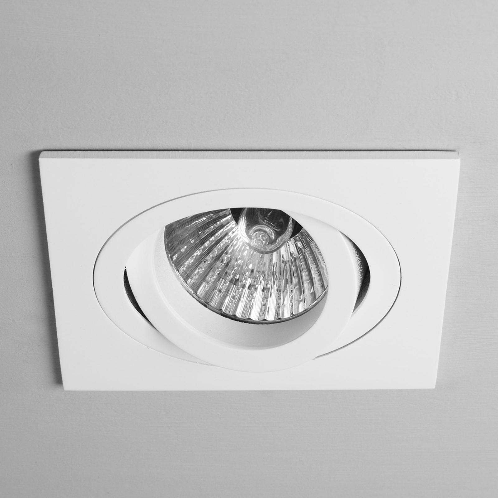 Astro Taro Square Adjustable spotlight vit 9,2 cm
