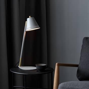 Bordslampa Pine med hålmönster skärm