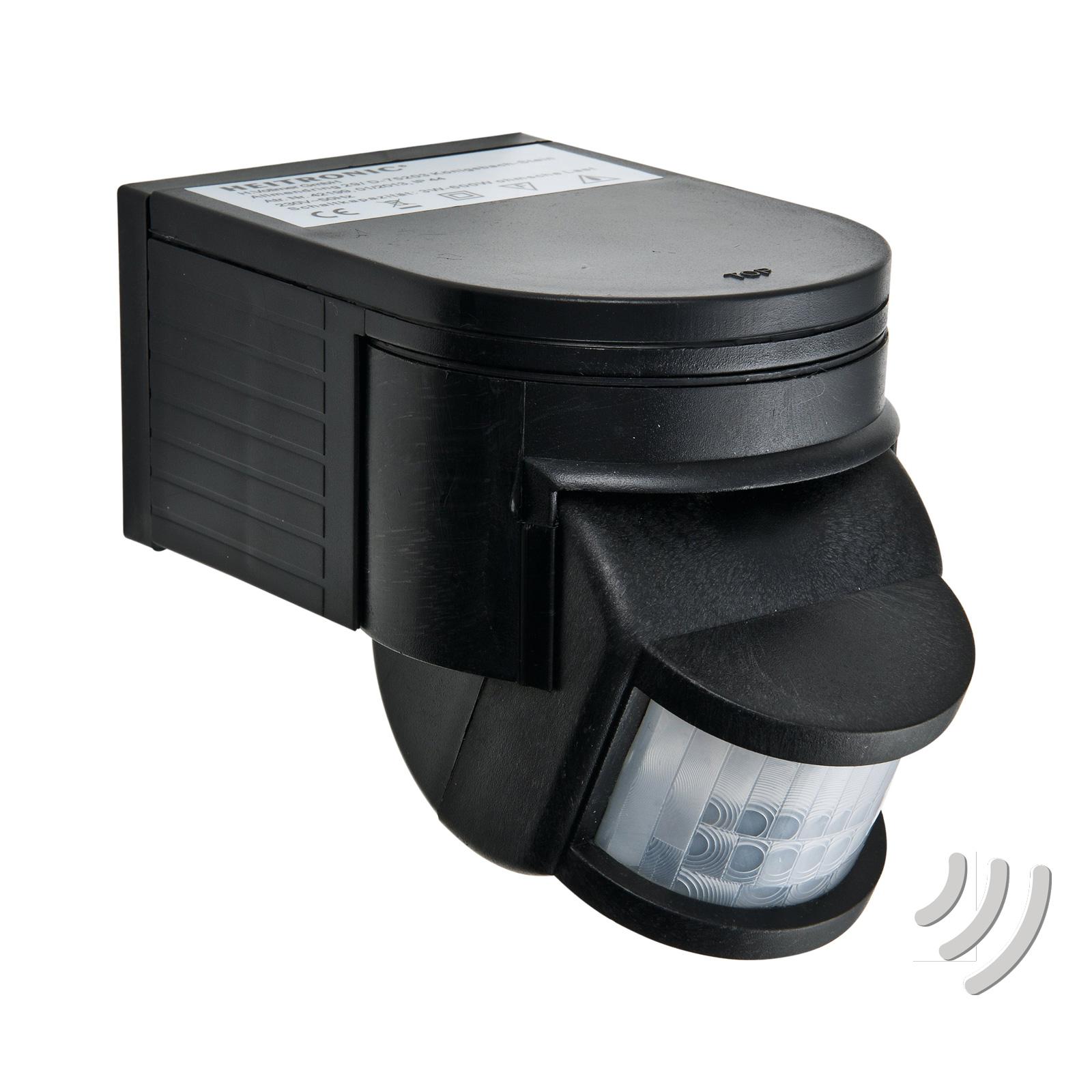 Passiv infraröd rörelsesensor Salo svart