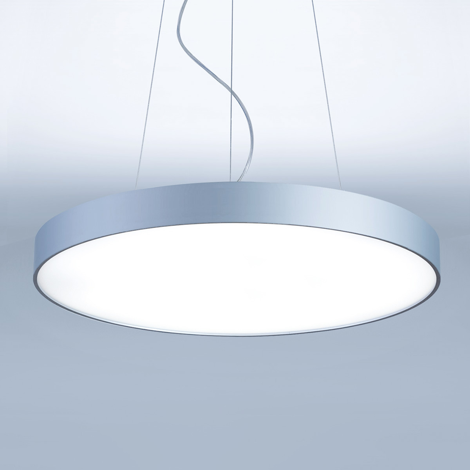 Basic-P1 rund LED-hengelampe - 30 cm
