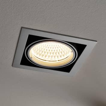 Arcchio Adin oprawa wpuszczana LED, 25,9W, szara