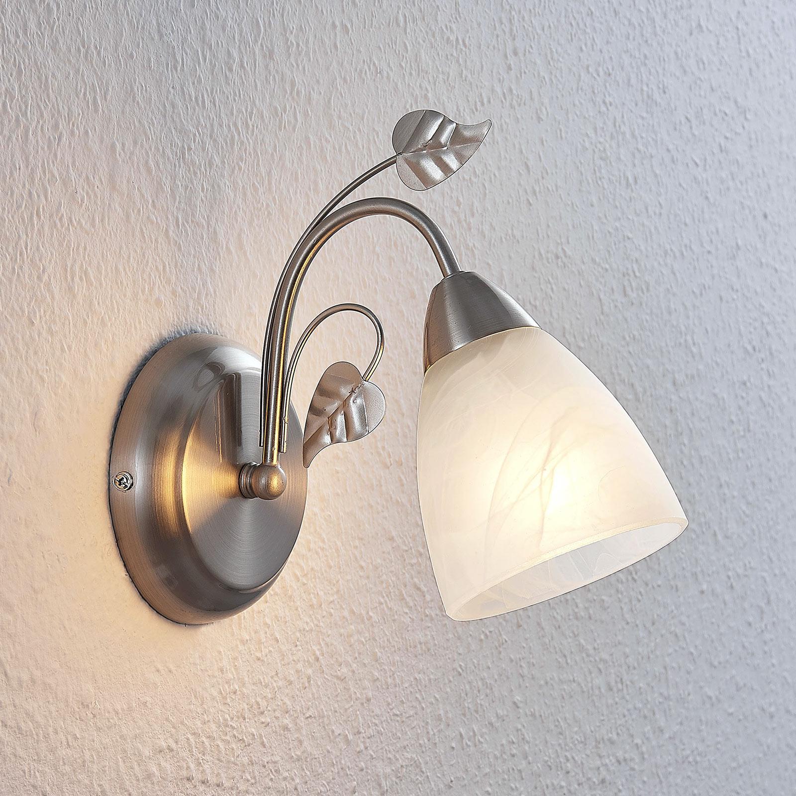 Lindby Yannie LED-vegglampe, en lyskilde