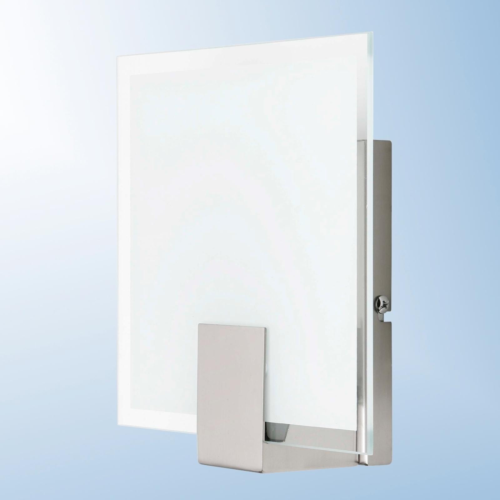 Vierkante moderne wandlamp Sonian