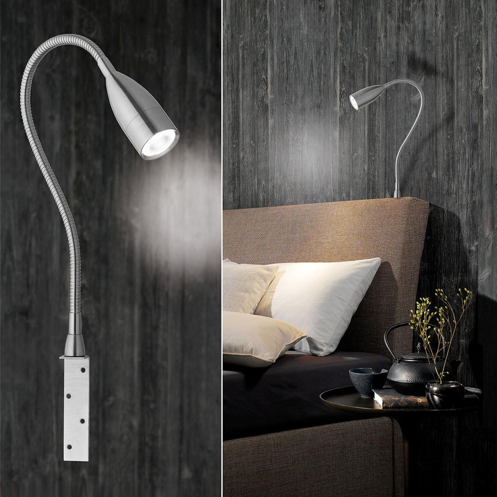 Per Gestensteuerung dimmbare LED-Wandleuchte Sten