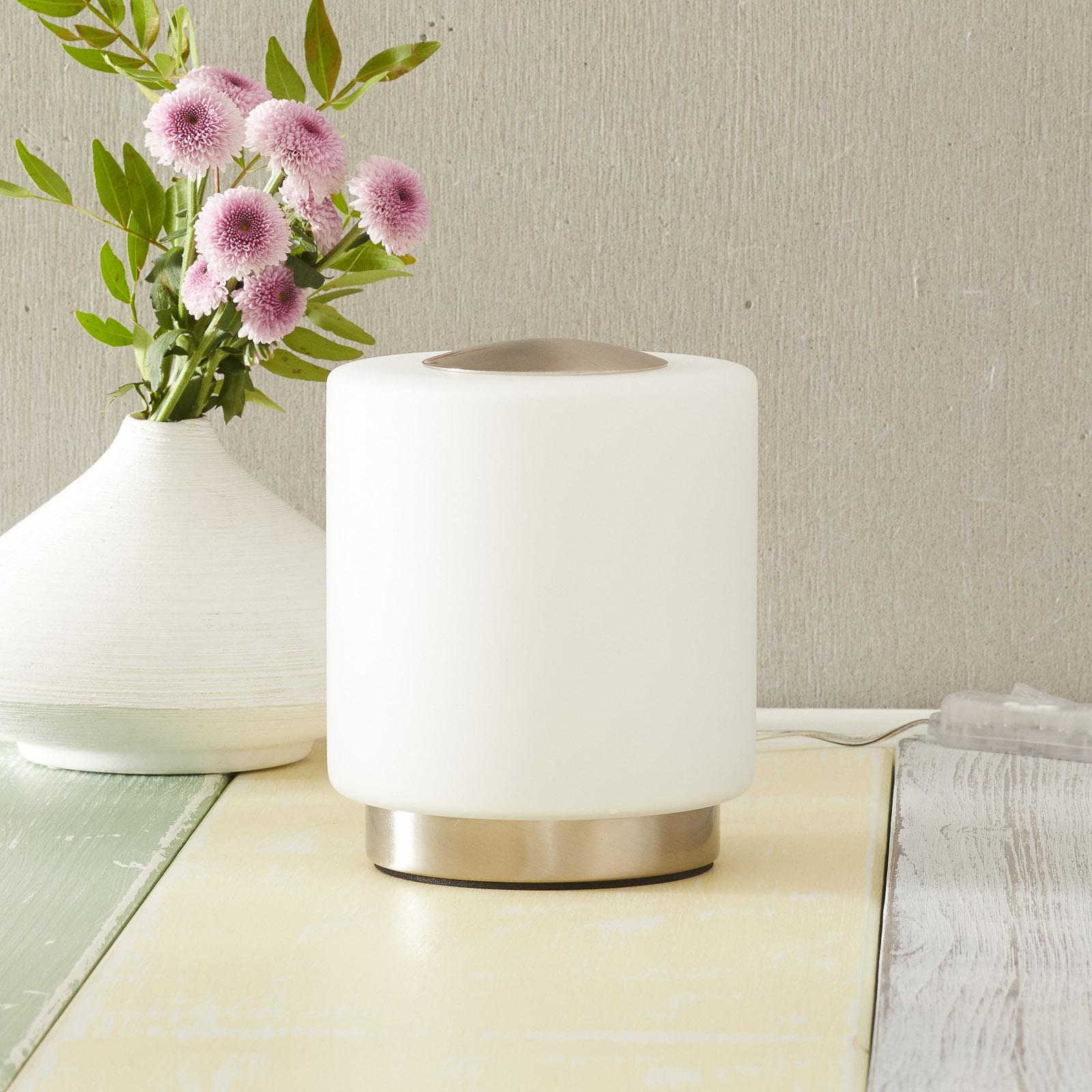 Stmívatelná stolní lampa Simi s dotykovou funkcí