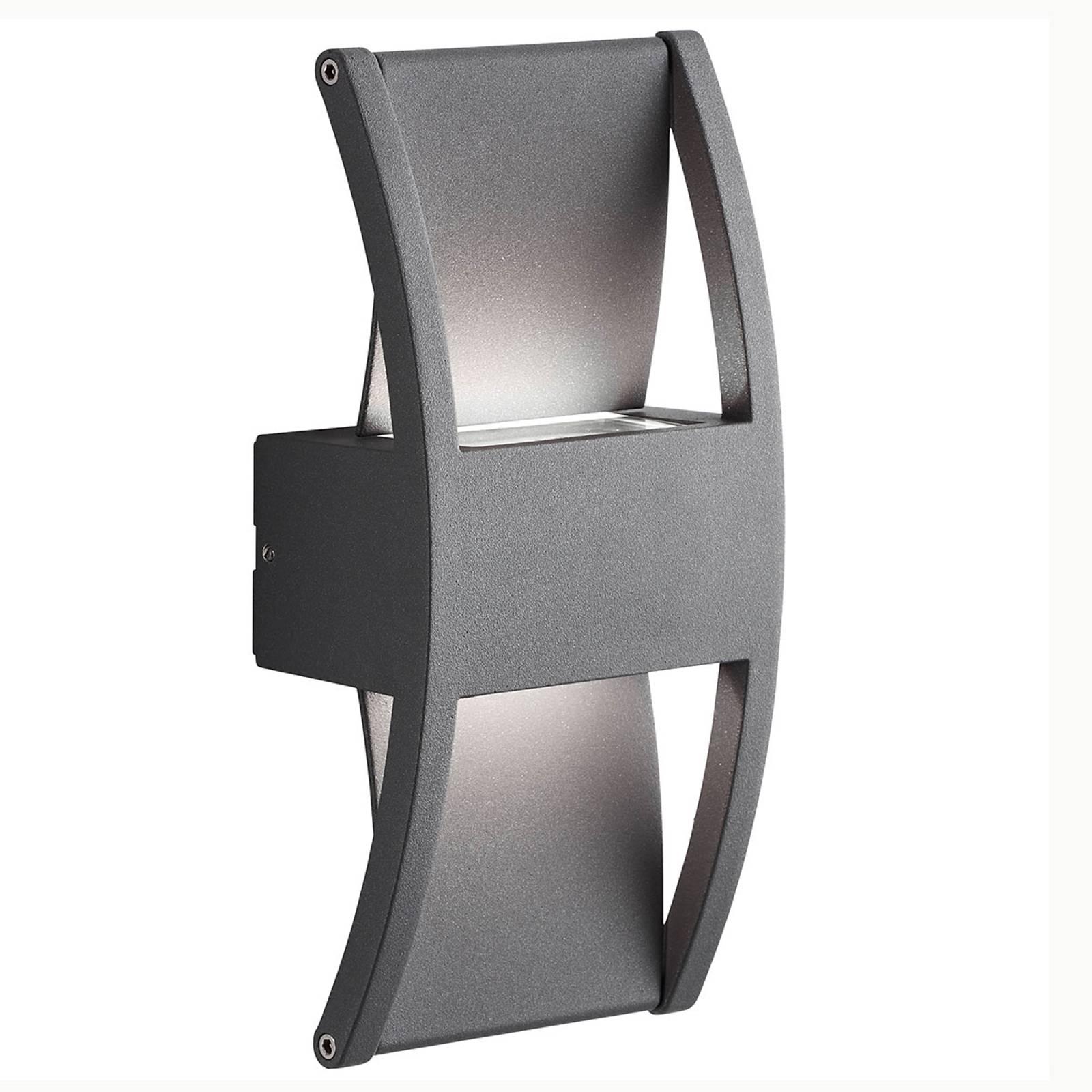 AEG Elroy LED buitenwandlamp van aluminium