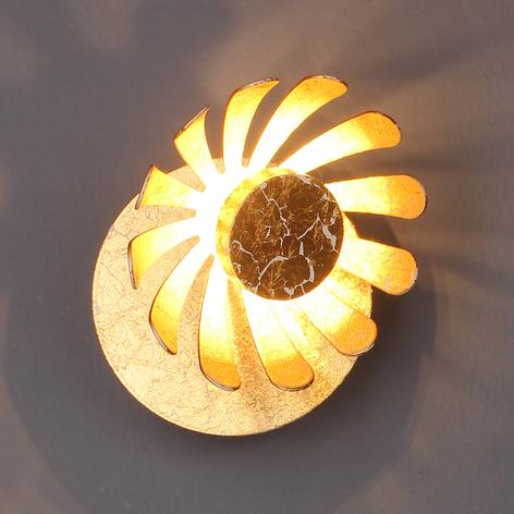 Applique LED Bloom, doré