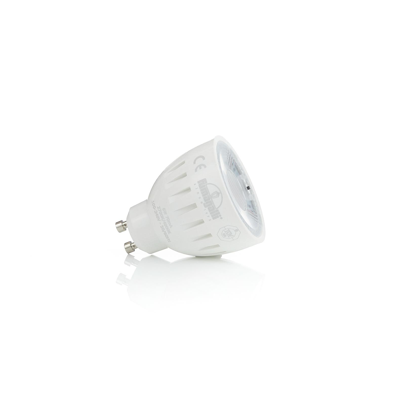 Riflettore LED GU10, CCT, 6 W, 600 lm
