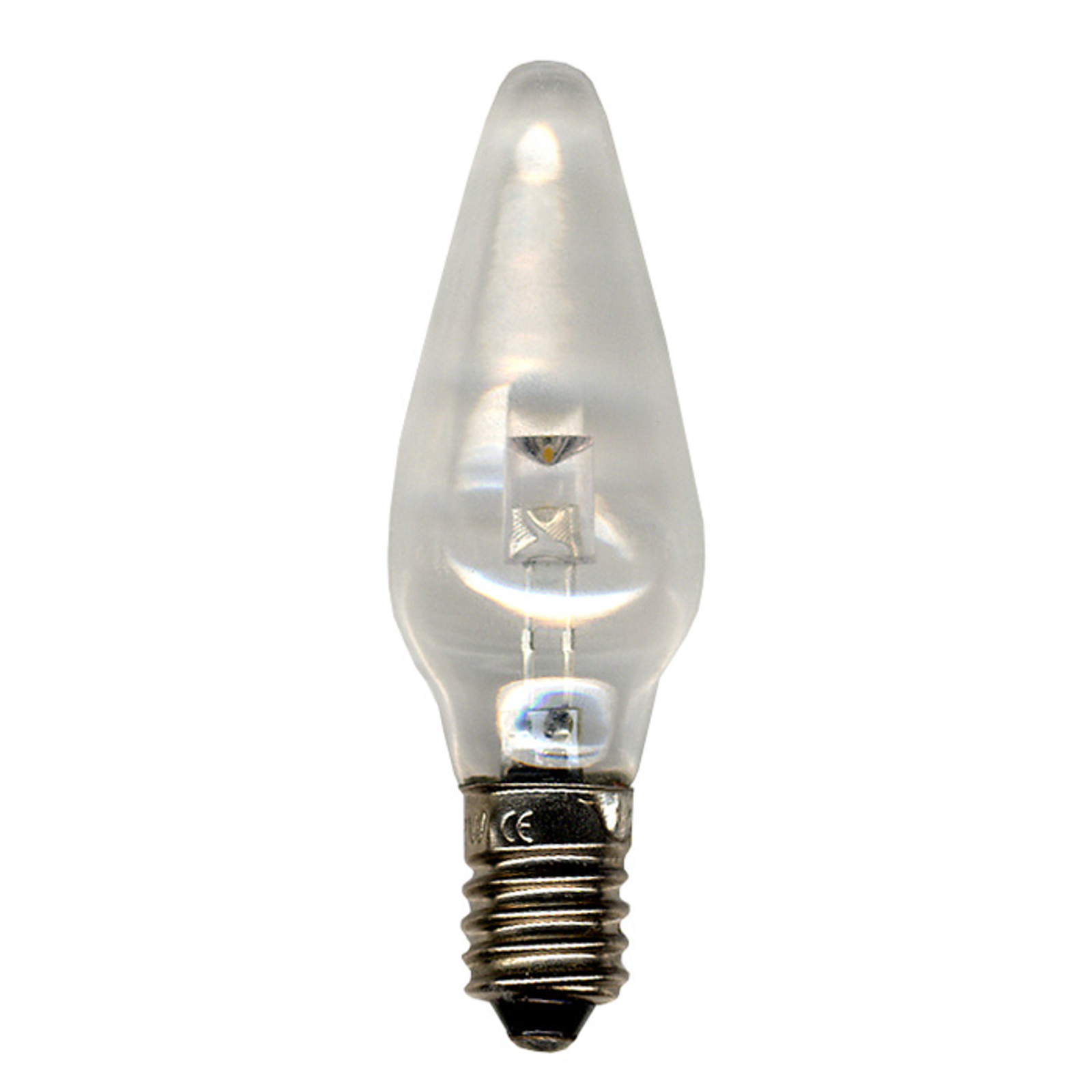 E10 0,2W 12V bombillas LED, transparente