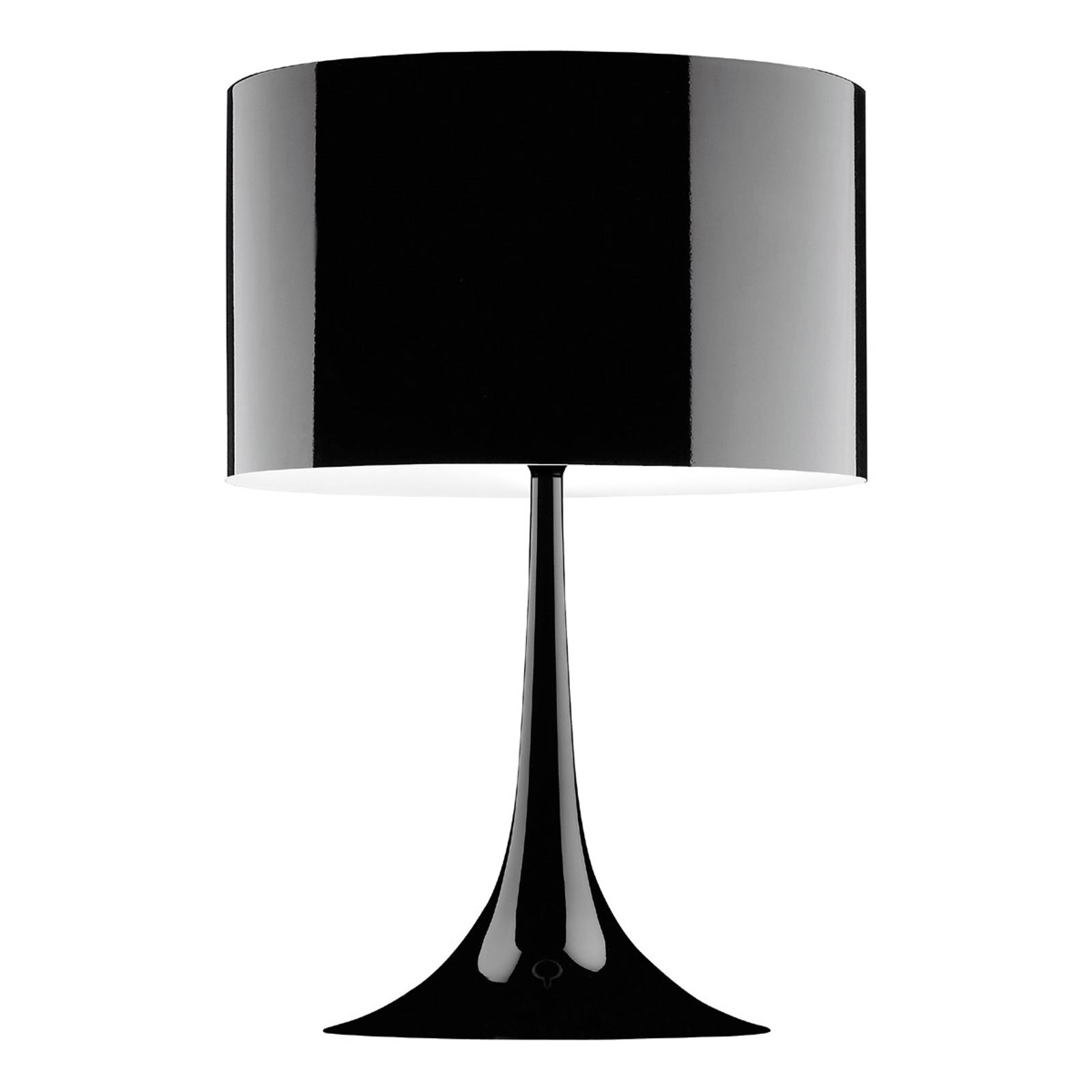 FLOS Spun Light T2 - schwarze Tischleuchte