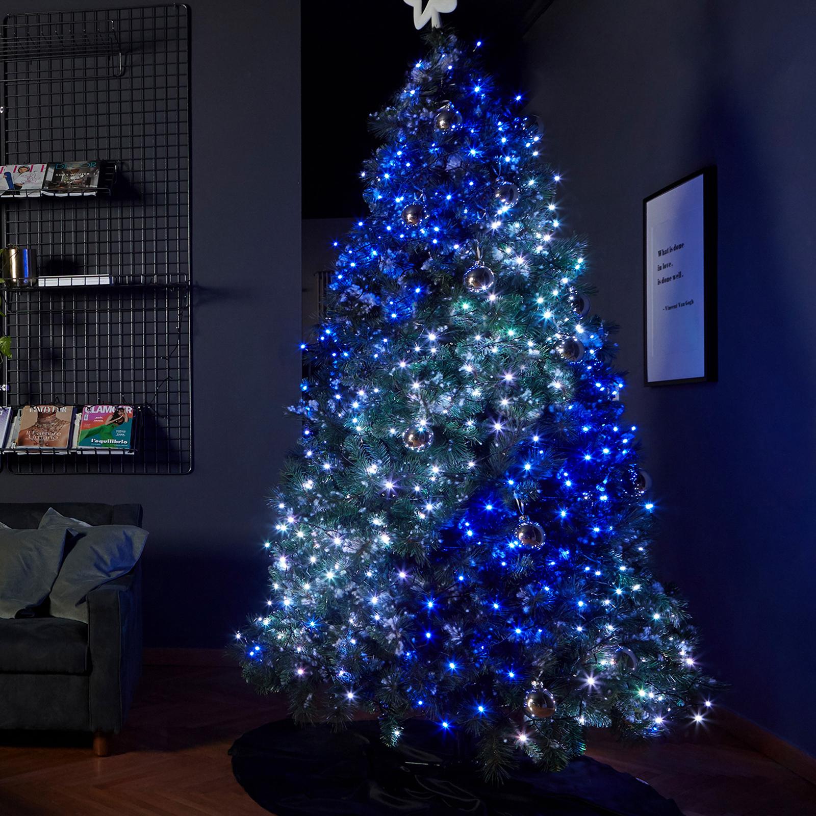 Lichterkette Twinkly RGBW schwarz 400-flammig 32m