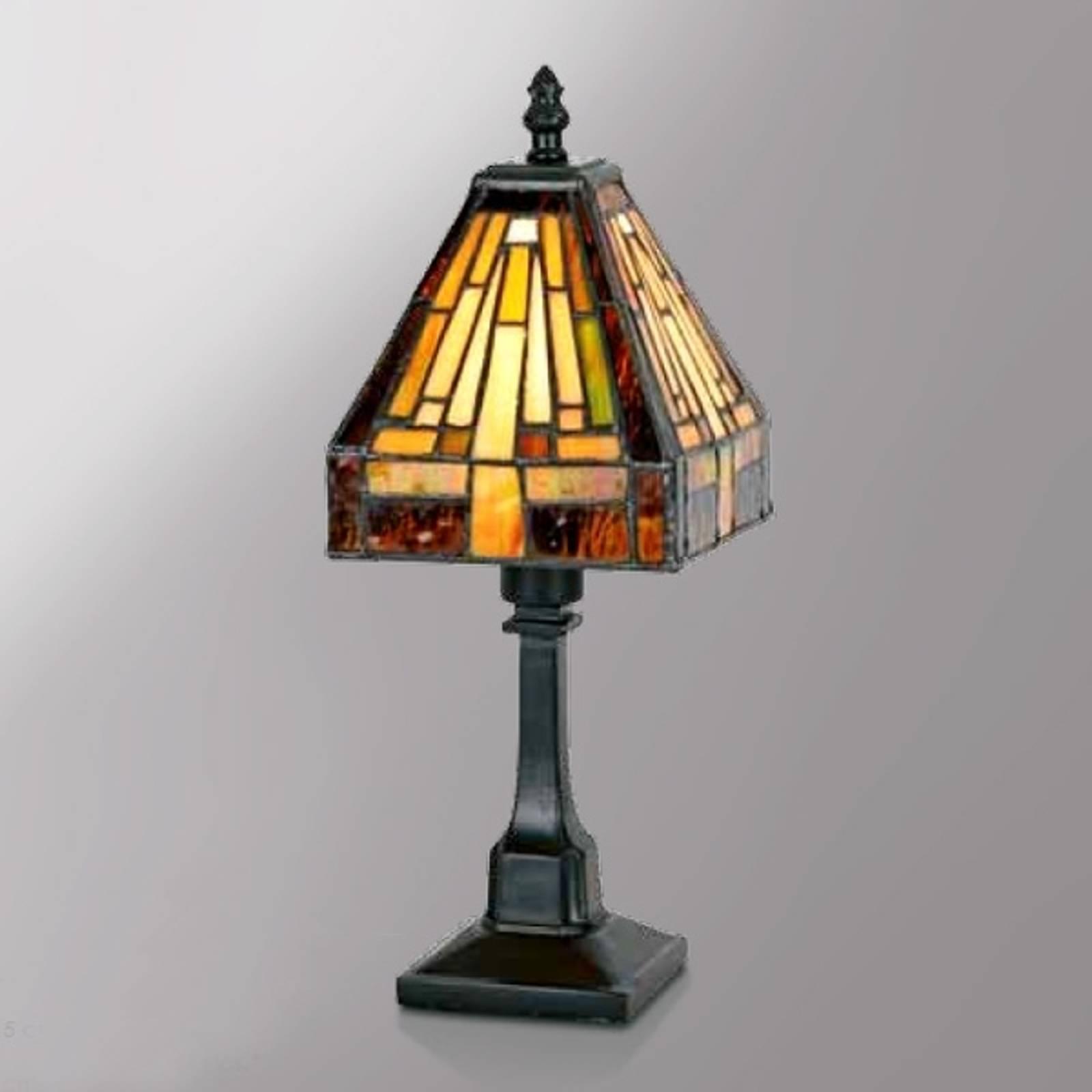 Veelzijdige tafellamp Bea in Tiffany-stijl
