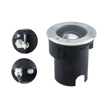 EVN Pentola LED-Bodeneinbaulampe edelstahl Ø13,5cm