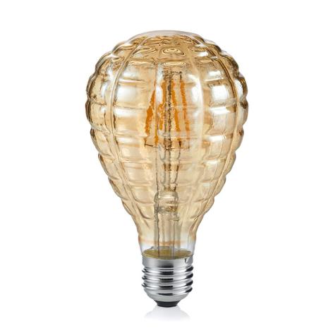 E27 4W lampadina a goccia 2.700K ambra