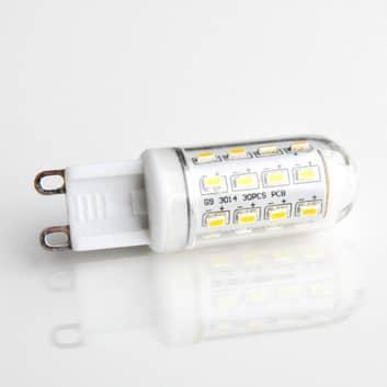 Żarówka rurkowa LED G9 3 W 830, przezroczysta